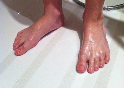 Protección de duchas