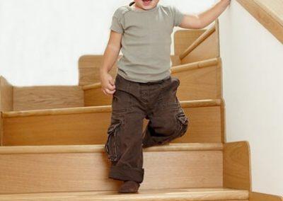 Seguridad en escaleras