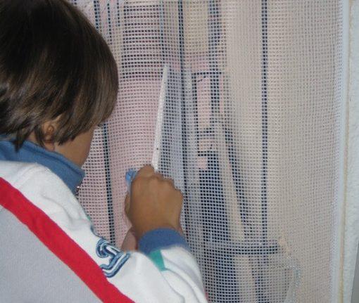 proteger balcones niños