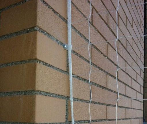 Anclaje para pared con clip