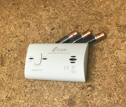detector monóxido carbono contenido