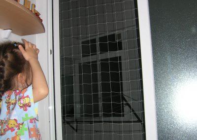 malla protección ventana