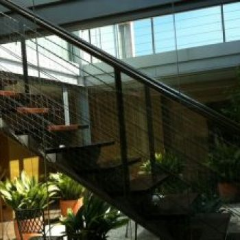 red seguridad escaleras niños